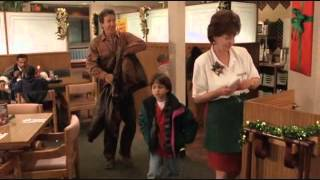 The Santa Clause Denny's scene