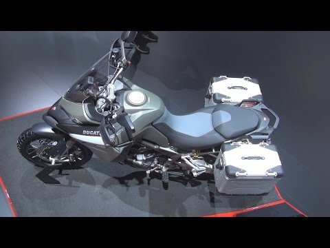 Ducati Multistrada 1200 Enduro (2016) Exterior and Interior in 3D