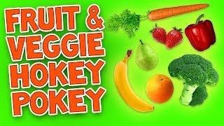 Hokey Pokey (Fruit and Veggie) - Kids Dance Songs - Children's Songs by The Learning Station
