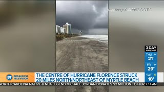 Myrtle Beach was mostly spared from Hurricane Florence: spokesperson