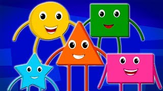 Learn Shapes And Colors | Little Red Car | Cartoons by Super Kids Network