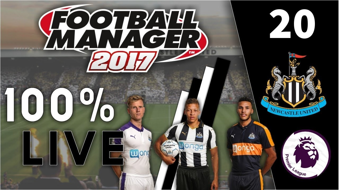 SEASON FINALE!! | FM17 100% Live Let's Play | Newcastle United #20 | Football Manager 2017