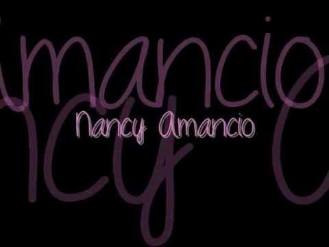 Dios me puso Nombre Karaoke / Nancy amancio