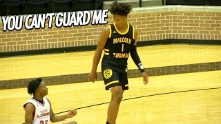Mikey Williams is Fed up (YOU CAN'T GUARD ME) with Team Loaded