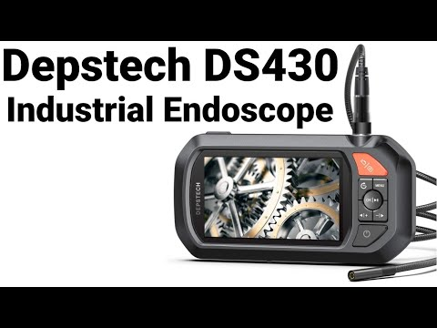 DS430 Industrial Endoscope - Overview, Demo, and First Impressions