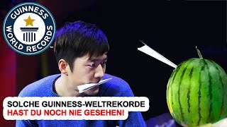 Solche Guinness-Weltrekorde Hast Du Noch Nie Gesehen!