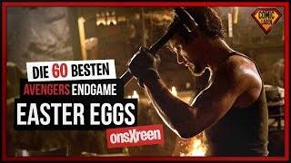 60 Avengers Endgame EASTER EGGS deutsch   [onsXreen]