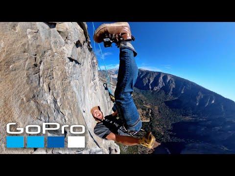 GoPro: Rappelling Down El Capitan Yosemite
