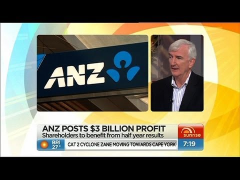 ANZ makes bumper profit