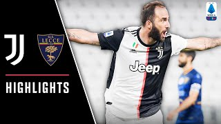 Juventus 4-0 Lecce | La Juventus spazza via il Lecce e allunga in classifica | Serie A Highlights