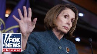 Pelosi blames media for dividing Democratic Party