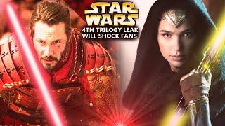 4th Star Wars Trilogy Leak Will Shock Fans! NEW Details Have Arrived (Star Wars Explained)