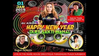 HAPPY NEW YEARS 2019 TARA BADBOY 58 STELL WITH GUGUN ORLANDO 617 BY DJ AYCHA ON THE MIX