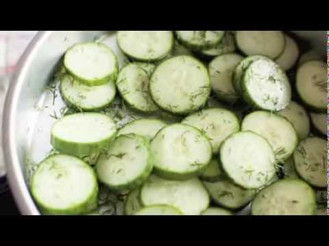 Recipe For Homemade English Cucumber Pickles
