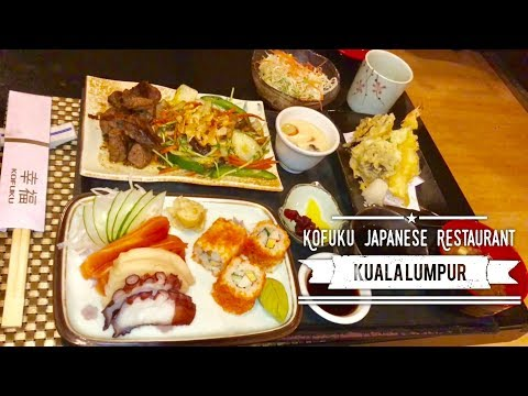 Kofuku Japanese Restaurant Seri Pacific Hotel Kuala Lumpur Malaysia