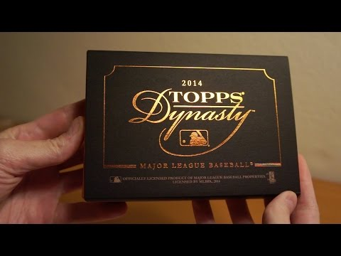 2014 Topps Dynasty 1 Box Break AWESOME PULL!