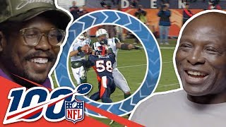 Bruce Smith & Von Miller Can't Stop Complimenting Each Other | NFL 100 Generations