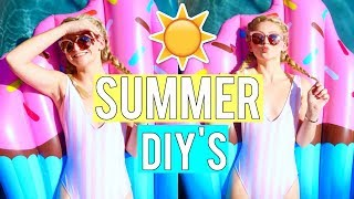 SUMMER DIYS You NEED To TRY (CHEAP & EASY!) | Kalista Elaine