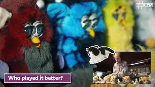 The Furby Organ vs. The Cat Organ