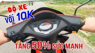 Độ xe 50cc chỉ tốn 10K chạy lút ga tăng lên 50% sức mạnh ▶ KYMCO VISAR 50cc