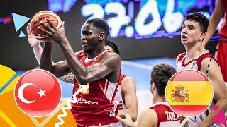 Turkey v Spain - Semi-Final - Full Game - FIBA U16 European Championship 2018
