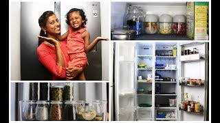 Fridge organization/Fridge organization in tamil/Tips to organize fridge