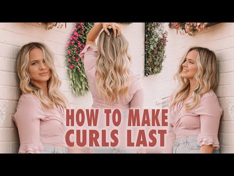 How To Make Curls Last - Kayley Melissa
