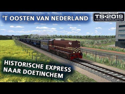 Train Simulator 2019: Historische Express naar Doetinchem (ChrisTrains NS2200)