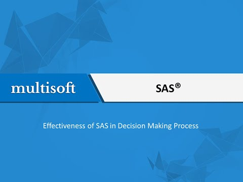 Learn SAS Online and Implement the Advanced Skills in the Development of the Organization