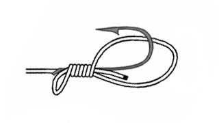 Fish Hook Snell Knot (Traditional)