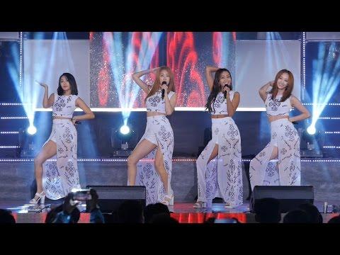 160815 씨스타 (SISTAR) 창원 경남도청 광복71주년기념 경축음악회 공연 직캠