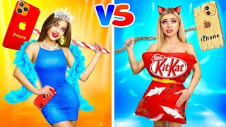 RICH vs POOR Fashion Girl    Compare Models on a Fashion Show at School! Battle by RATATA BOOM