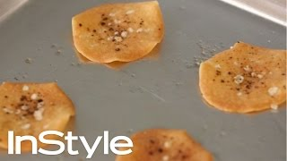 How To Make Black Pepper Quinoa Chips | Cooking Recipe | InStyle + Jessica Seinfeld