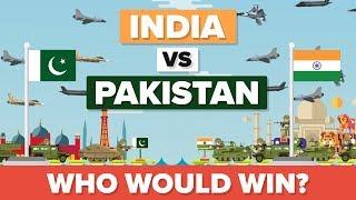 India vs Pakistan 2017 - Military / Army Comparison