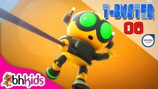 Phim Hoạt Hình Robot Người Máy T-Buster tập 06   Hoạt Hình 3D Hay 2017