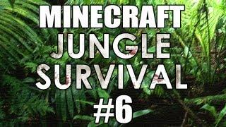 "Minecraft - ""Jungle Survival"" Part 6: Village Farm"