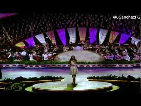 Jessica Sanchez - God Bless America - PBS National Memorial Day Concert (05.27.12)