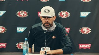 Kyle Shanahan and Members of the 49ers Recap the 31-13 Victory over the New York Jets