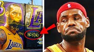 LeBron James's Top 10 Most Embarrassing Moments! (Part 2)