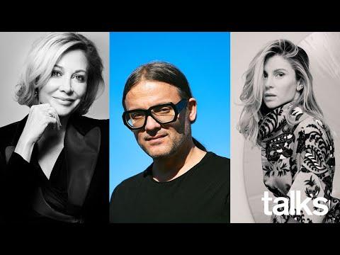 Live panel on philanthropy and design with Cyrill Gutsch, Cherine Magrabi and Nadja Swarovski