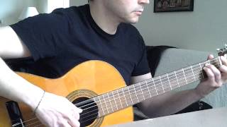 Burzum - Dunkelheit (Classical Guitar Cover)