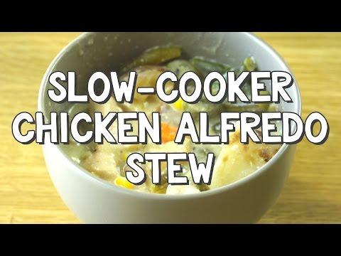 Slow-Cooker Chicken Alfredo Stew