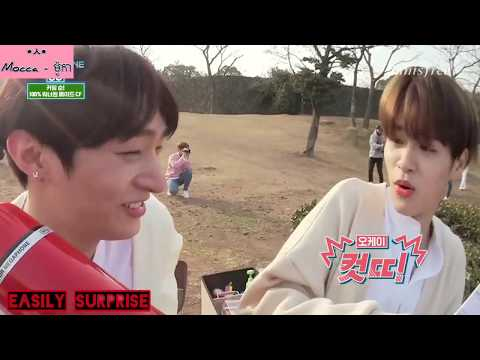 Wanna One's cutie pie Lee Daehwi Scare Moment (Bonus with Mum Sung)