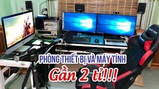 Đột nhập Phòng Làm Việc với thiết bị tiền tỷ của Yamaha Trung Tá ▶ Dàn PC i9 và iMac 5K khủng 😬
