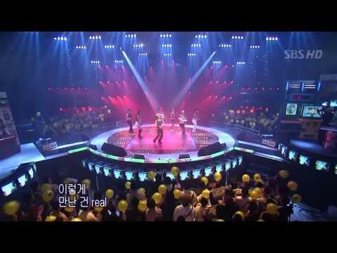 (보아) BoA* Double (Take 3) Live from SBS Popular songs 2003.11.02 【HD】