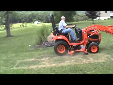 2017 Kubota Bx2360 Sub Compact Tractor Loader 60
