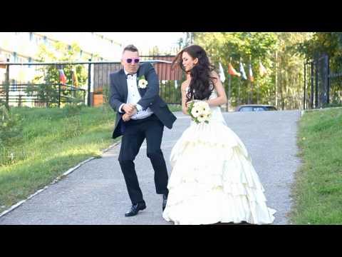 LENIN & TANYA - GANGNAM STYLE (CRAZY WEDDING)