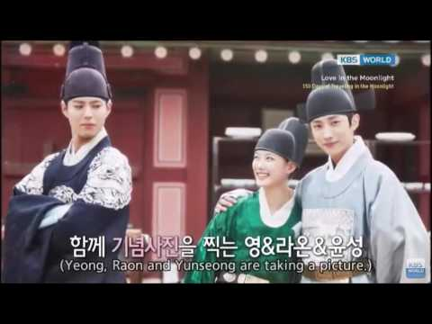 Jinyoung's cut in 150 days of travelling in the moonlight (eng sub)