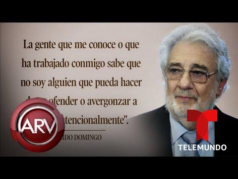 Acusan a Plácido Domingo de acoso sexual y abuso de poder | Al Rojo Vivo | Telemundo