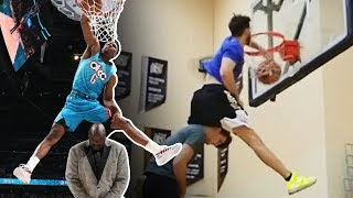 I Do ALL The NBA Dunk Contest Dunks!